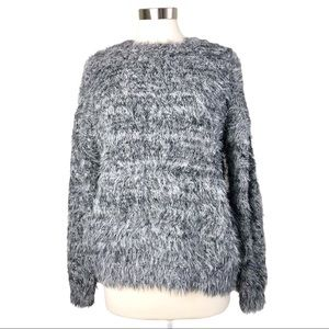 Poof Apparel | NWT Fuzzy Crewneck Sweater